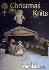 King Cole Christmas Knits Book 3 nativity scene tea cosy tree decorations + more