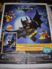 LOCANDINA POSTER MANIFESTO LEGO BATMAN IL FILM DVD DC comics cm 62,00 x 84,00 cm