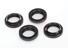 TRAXXAS 7767X Nueces Amortiguadores Aluminio Negro/SPRING RETENEDOR DE
