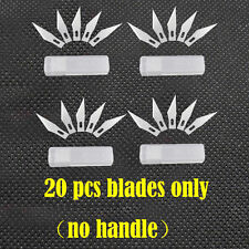 20pcs Blades #11 Exacto Knife Style X-acto Hobby For Multi Tool cutting Crafts