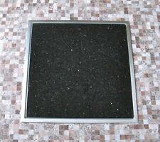 Einbau Granitfeld Arbeitsplatte Küche 250x250 mm mit Edelstahlwanne Galaxy Star
