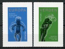 Norway 2019 MNH Gustav Vigeland Sculptor 2v S/A Set Art Sculpture Stamps