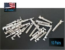 10 Pairs Deutsch Dt Series Pin Connector Male Amp Female 20 Pcs Terminals Metal
