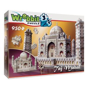 Wrebbit Taj Mahal 3D 950 Piece Jigsaw Puzzle NEW