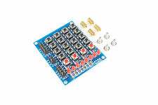 4x5 Matrix Micro Switch Keypad Module 8 LED Pi Uno Arduino Flux Workshop