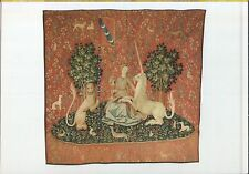 Alte Kunstpostkarte - Tapisserie - La Dame à la Licorne