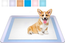 Dog Training Pet Pad Holder Puppy Tray No Spill Holds 23.5 In Training Pee Mat