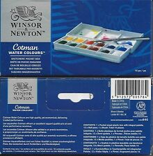 Winsor & Newton Cotman Watercolor Watercolors SKETCHERS' POCKET BOX 12 Color