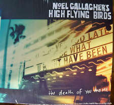 """OASIS NOEL GALLAGHER'S HIGH FLYING BYRDS """"THE DEATH OF YOU AND ME"""" MINI CD PROMO"""
