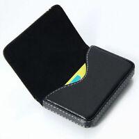Wasserdichte Business ID Kreditkartenetui mit Geldbörse Lederetui BoxBlack R6U6