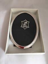 Porta fotos Marco Oval Plata Ley 925 Isabel Cabanillas 10 x 14 cm Nuevo  Silver