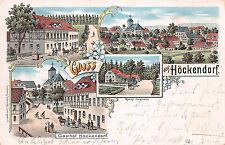 Gruss aus Höckendorf, Gasthof, Postkarte 1901