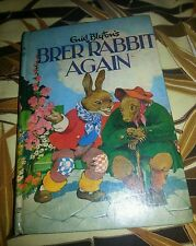 VINTAGE 1963 BRER RABBIT AGAIN ENID BLYTON HARDCOVER BOOK