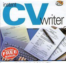 CV scrittore | curriculum vitae | WIN 95 XP 98 può essere eseguito su WIN 7 8 10 vedi inserzione