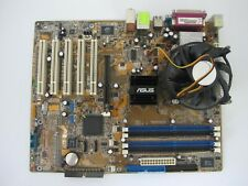ASUS P5P800 Intel 865PE Motherboard + P4 LGA 775 Pentium 4 3GHz  with coller