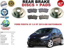 für Ford Fiesta VI 1.6 ST 2013- Bremsscheiben SET HINTEN+Bremsbelag Satz