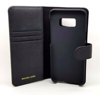 Michael Kors MK Saffiano Folio Phone Case Cover  for Galaxy S8+ MSRP $75