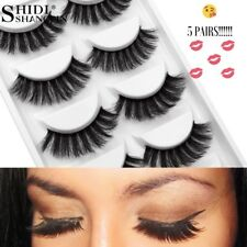 💕5 Pairs 3D Mink Fur Lashes - Accentuate Your Eyes!! 💋💋💋
