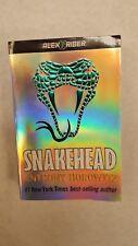 "Anthony Horowitz ""Snakehead"" Alex Ride Paperback--NEW"