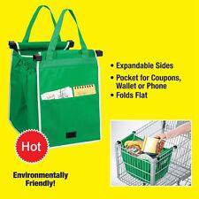Travel Shopping Pro Bag Foldable Tote Reusable Washable Grab Trolley Bag Durable