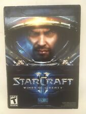 Starcraft II Wings Of Liberty CD-Rom Computer Strategy Game Blizzard Windows Mac