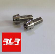 Titanium bolt cap head taper motorsport Drilled M6x25mm