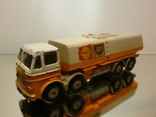 DINKY SUPER TOYS  - LEYLAND OCTOPUS TANKER SHELL BP    - GOOD CONDITION