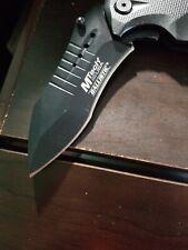 Mtech Usa Ballistic Mt-A845 Series Spring Assist Folding Knife, Black Blade, 5-I
