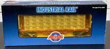 Atlas Industriel Rail 93536 O Échelle Burlington Plat Voiture W/Lombaire Charge
