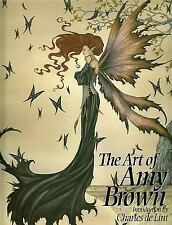 The Art of Amy Brown by Charles de Lint, fantasy illustrations, fairy art