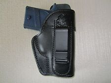 Sig Sauer P938, IWB, right hand, leather holster WITH SWEAT SHIELD