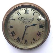 Stunning Charles Frodsham & Co London Brass Cased Car Clock Watch