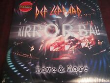 DEF LEPPARD MIRROR BALL LIVE AND MORE 180 GRAM LIMITED EDITION WITH STICKER 3LPS
