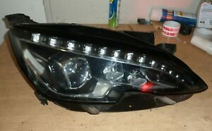 PEUGEOT 308 LED DRIVER SIDE FRONT HEADLIGHT XENON 2015 MODEL