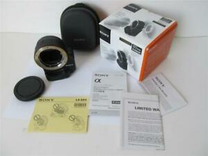Sony LA-EA4 A-Mount Lens to E-Mount NEX Camera Body Adapter ****