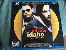 MY OWN PRIVATE IDAHO de Gus Van Sant LaserDisc Near NEW - mmoetwil@hotmail.com