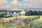 Paul Landry Summer Hill Open Edition Giclee on Canvas