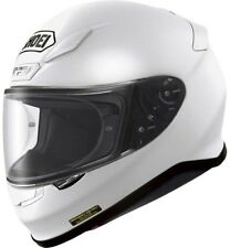 SHOEI NXR Plain Gloss White Motorcycle Helmet 531314 L