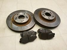 Honda Crv Mk2 2002-2006 2.2 iCDTI Front Brake Discs And Pads
