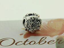 Authentic Chamilia 2010-3211 October Marigold Garden Club Flower Bead