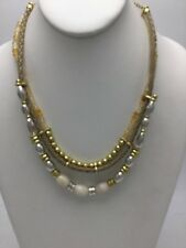 $69 Lucky Brand Necklace Sun Kissed Rock Crystal Collar Necklace LB 40