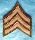 WW1 US ARMY SERGEANT STRIPES RANK INSIGNIA FROM A LARGE NEW YORK ESTATE