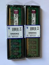 2 Kingston KVR800D2N6/2G 2GB PC2-6400 CL6 240 Pin DIMM  Memory RAM