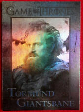 GAME OF THRONES - TORMUND GIANTSBANE - Season 4 - FOIL PARALLEL Card #64
