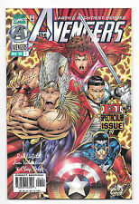 Avengers #1 (Nov 1996, Marvel) Heroes Reborn Rob Liefeld Jim Valentino Yaep mHv