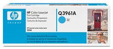 Original HP Toner q3961a 122 A cyan LaserJet 2550 2550 L 2550ln Neuf B
