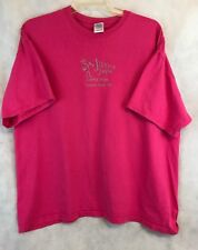 Gildan Jiving Java Granite Falls NC Pink Short Sleeve Tee Shirt Size 2XL