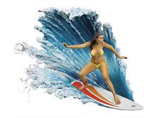 Andrea Miniatures punto romper Dama surfista maravilloso mundo 54mm sin pintar KIT