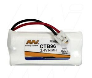MI CTB96 2.4V NiMH Cordless Phone Battery Telstra6010, Uniden, V-tech8300