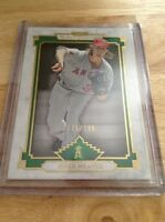 Jered Weaver  Angels  2014 Topps Museum Collection Green  #46  175/199